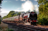 6233 DUCHESS OF SUTHERLAND CATHEDRALS EXPRESS 19.7.08