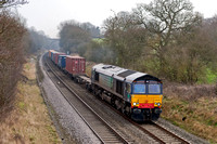 _DSC7262 DRS 66416 passing through Shrewley common cutting 13.15pm 2.3.12