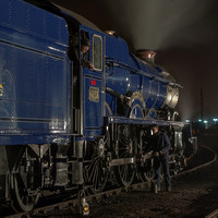 6023 KING EDWARD II NIGHT SHOOT DIDCOT 1.4.11 RE-VISITED